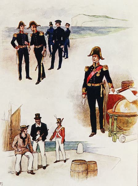 The Royal Navy, Painted and Described - Seaman's Dress, circa A.D. 1833 to 1843 (1907)