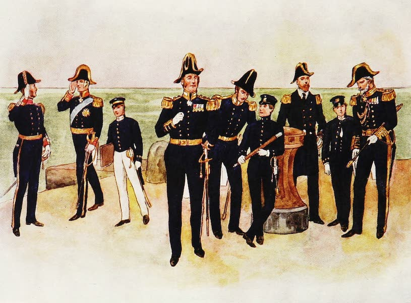 The Royal Navy, Painted and Described - Seaman's Dress, circa A.D. 1837 to 1897 (1907)