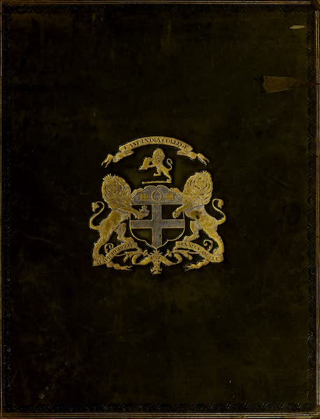 The Ruins of Gour - Front Cover (1817)