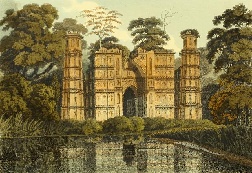 The Ruins of Gour - The D A'khil Gate (1817)
