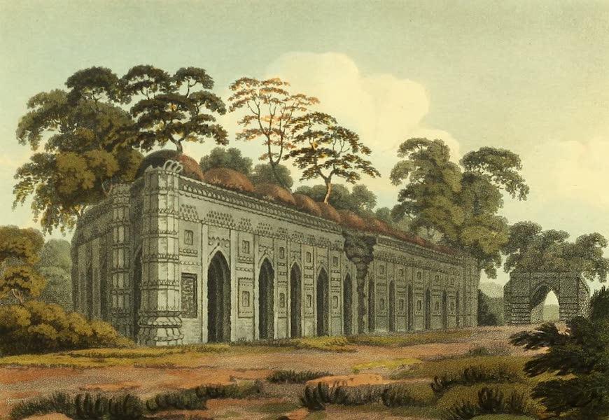 The Ruins of Gour - The Suna Masjid, or Golden Mosque [Bara Sona Masjid] (1817)