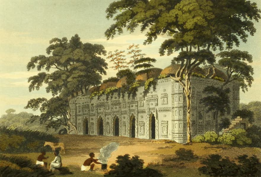The Ruins of Gour - The Chuta Suna Masjid, or Small Golden Mosque (1817)