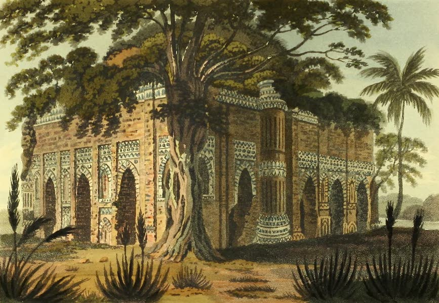 The Ruins of Gour - The Painted Mosque [Lattan masjid] (1817)