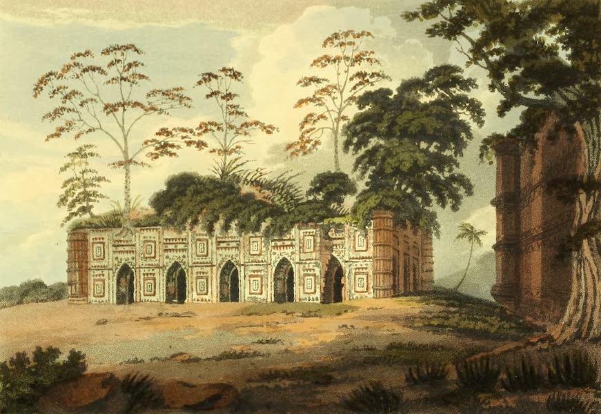 The Ruins of Gour - Thanty Para [Tantipara Masjid] (1817)