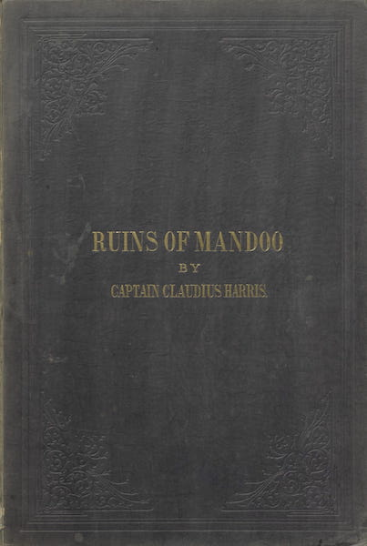 The Ruins of Mandoo - Front Cover (1860)