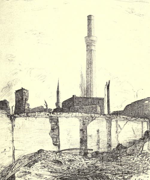 The Salonika Front - Ruin and Desolation. Salonika after the Fire (1920)