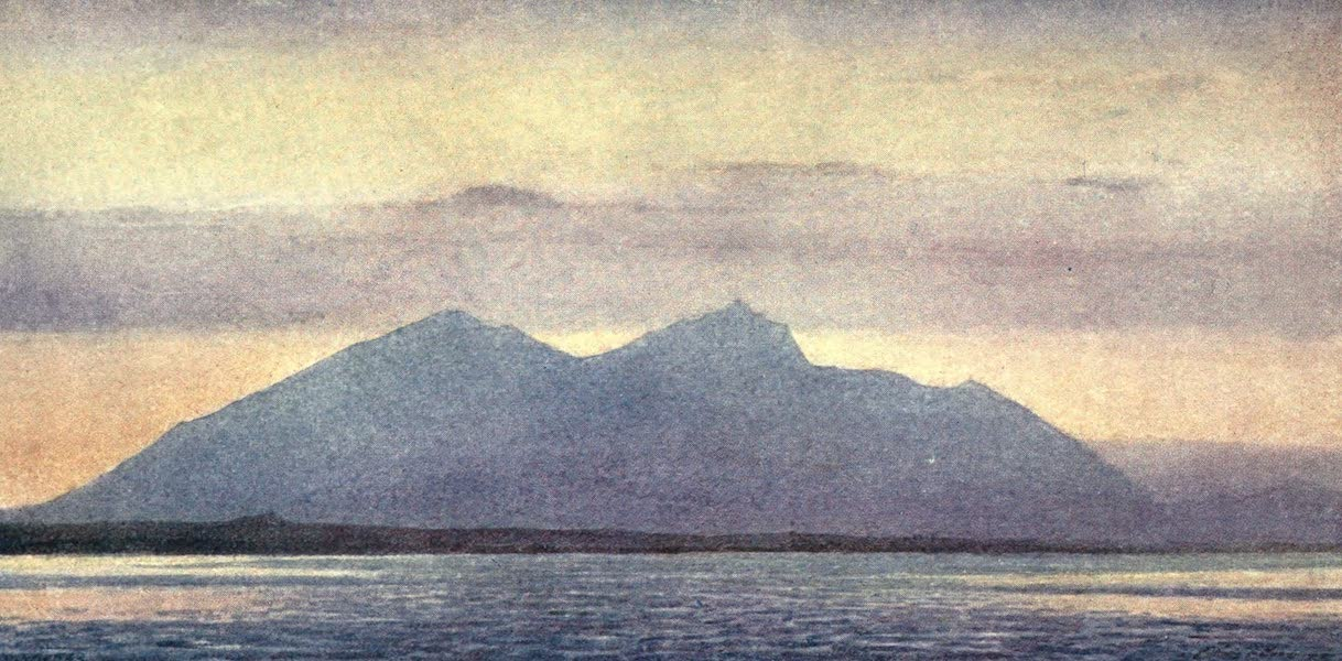The Salonika Front - Mount Olympos from Mikra (1920)