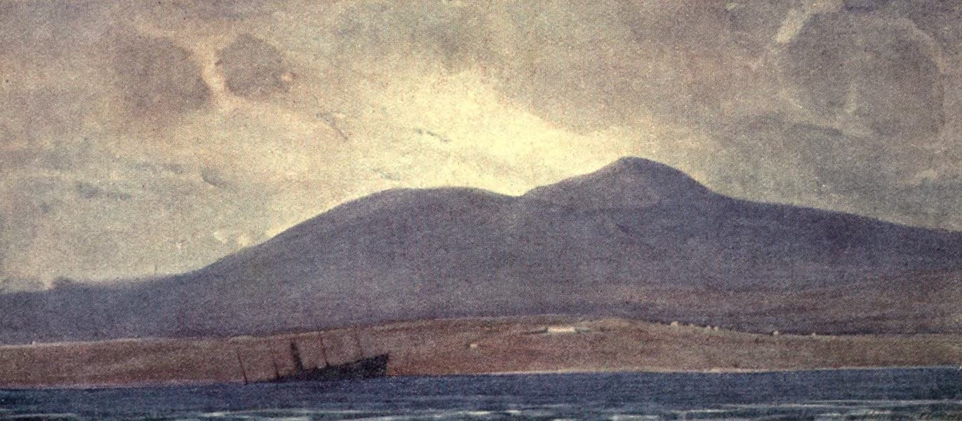 Mount Hortjac from the Gulf of Therma