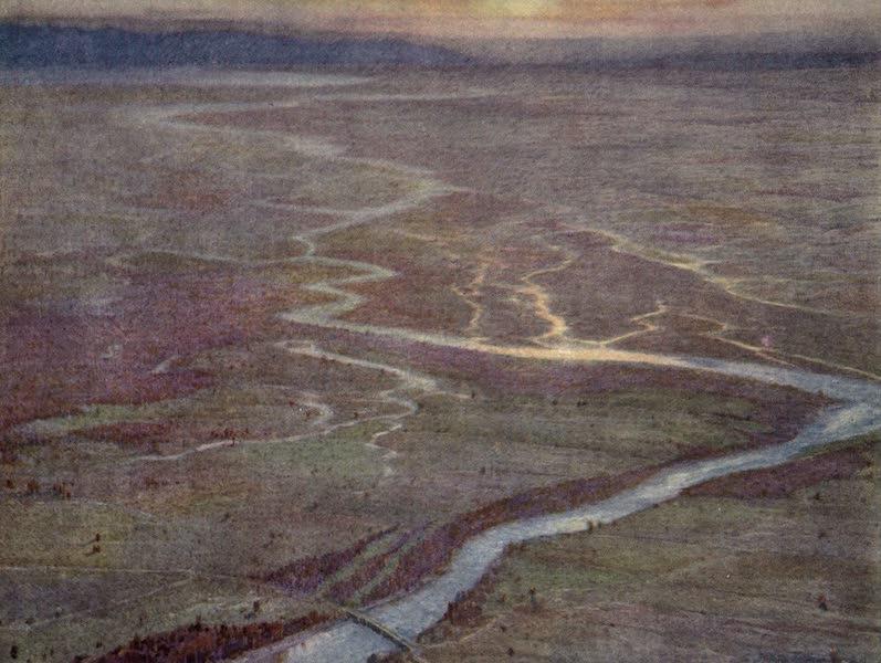 The Salonika Front - From an Observation Balloon - Struma Valley, looking towards Lake Tahinos (1920)