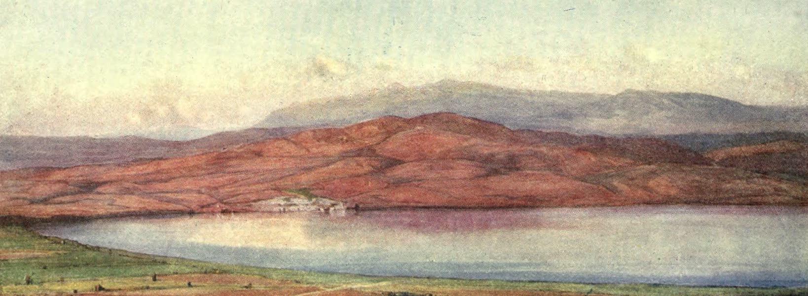 The Salonika Front - Doiran Town and Lake (1920)