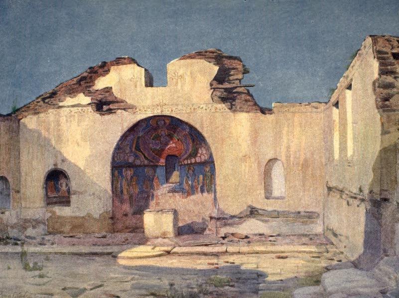 The Salonika Front - Gerbasel Church (1920)