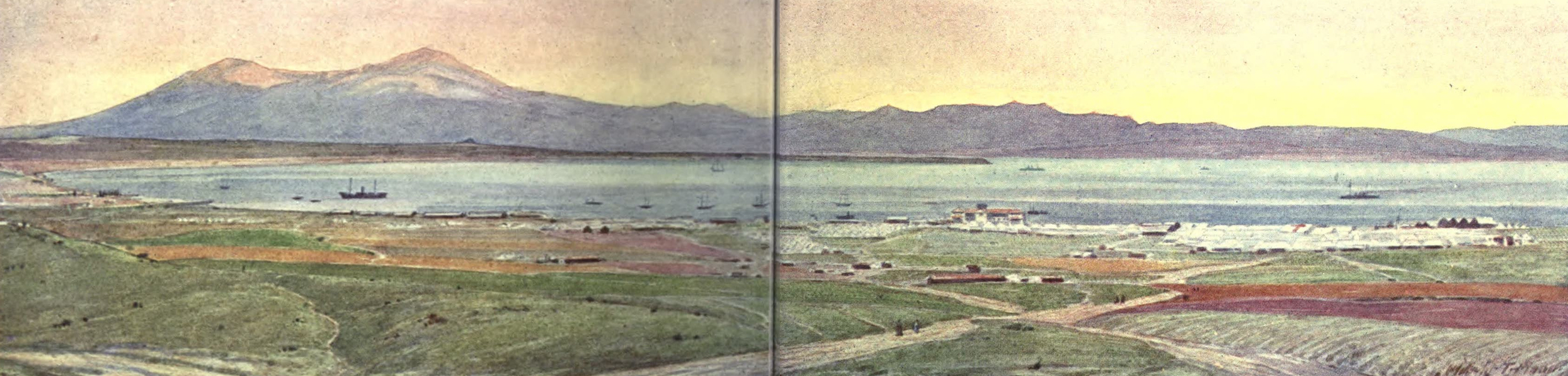 The Salonika Front - Mikra Bay (1920)