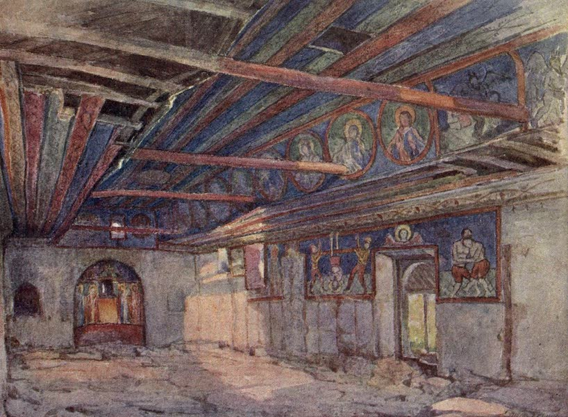 The Salonika Front - Vergetor Church (1920)