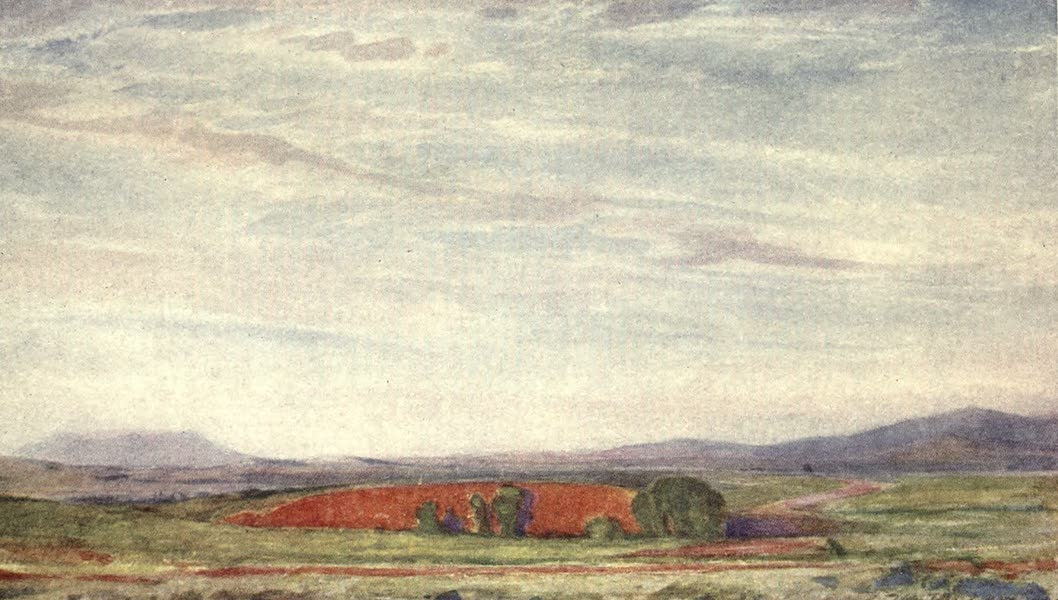 The Salonika Front - Sunset Effect on a Quarry near Vergetor (1920)