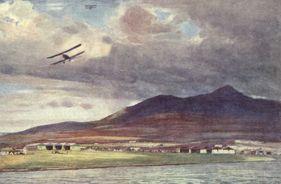 The Salonika Front - British Aerodrome and Aircraft Park, Mikra Bay (1920)