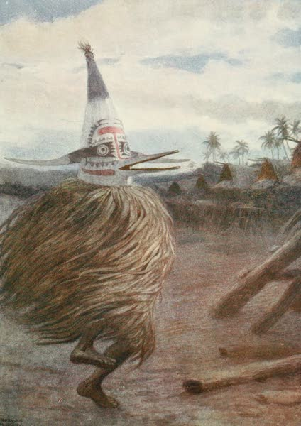 The Savage South Seas, Painted and Described - A Kaivakuku, Roro Tribe, Central Division, British New Guinea (1907)