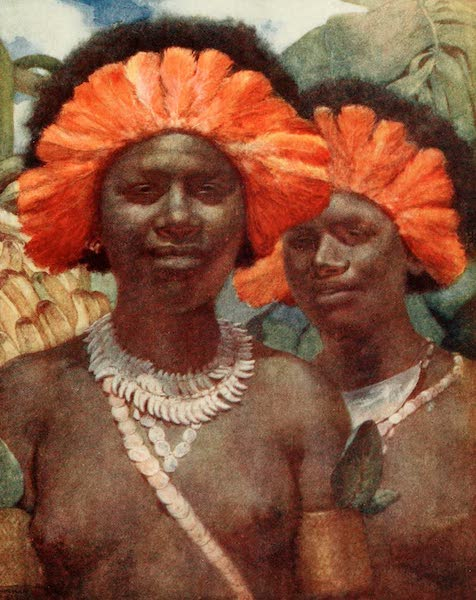 The Savage South Seas, Painted and Described - Ready for the Dubu Dance (1907)