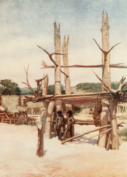 The Savage South Seas, Painted and Described - The Dubu at Rigo, British New Guinea (1907)
