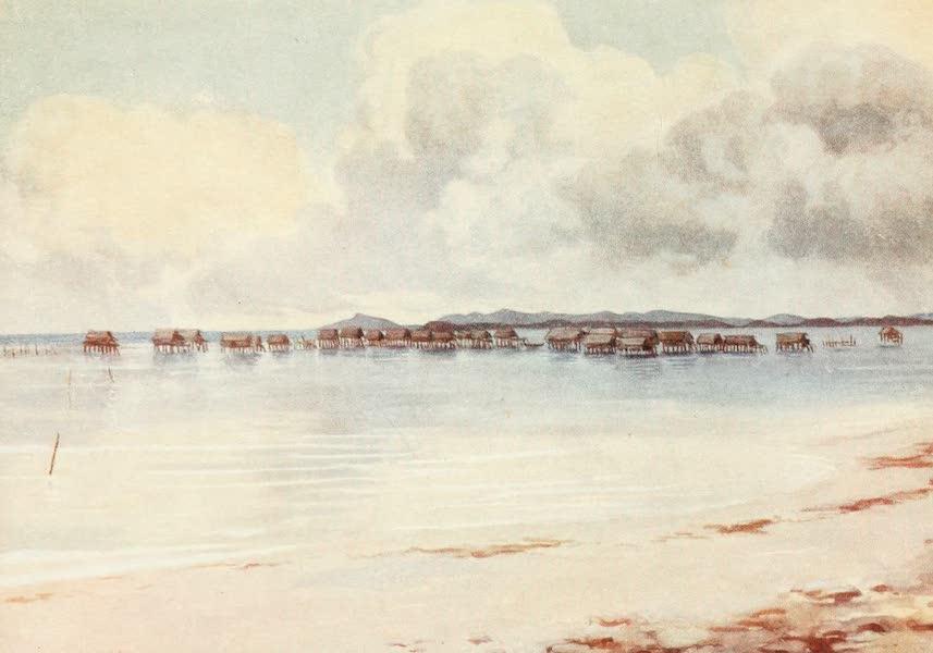 The Savage South Seas, Painted and Described - Marine Village, Tupusuli, British New Guinea (1907)