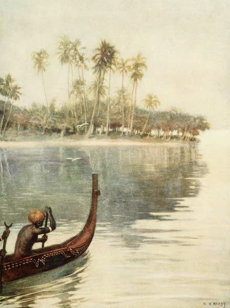 The Savage South Seas, Painted and Described - Early Morning, Gavutu, Solomon Islands (1907)
