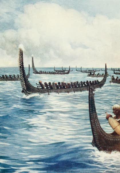 The Savage South Seas, Painted and Described - Ingova's Head-hunters, British Solomon Islands (1907)