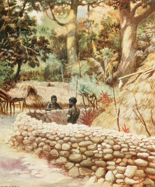 The Savage South Seas, Painted and Described - Chief's House, Ambryn, New Hebrides (1907)