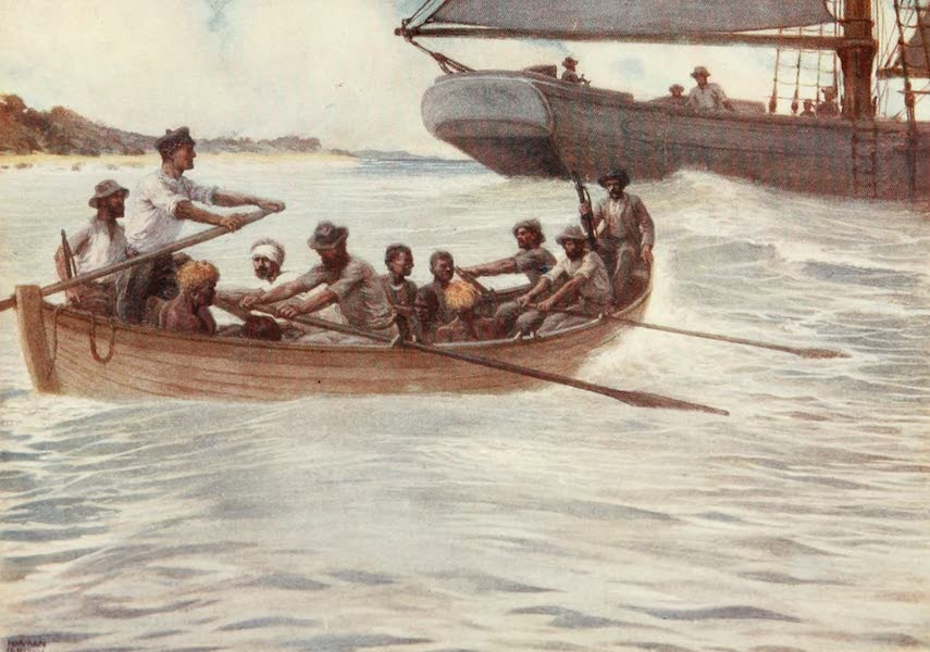 """The Savage South Seas, Painted and Described - The """"Blackbirders"""" in the Solomon Islands (1907)"""