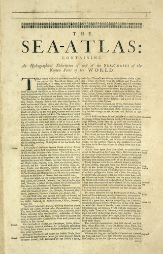 World - The Sea-Atlas