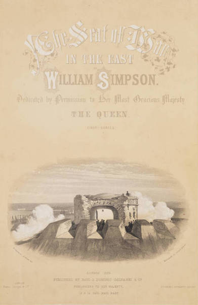 The Seat of War in the East Vol. 1 - Title Page - First Series (1855)