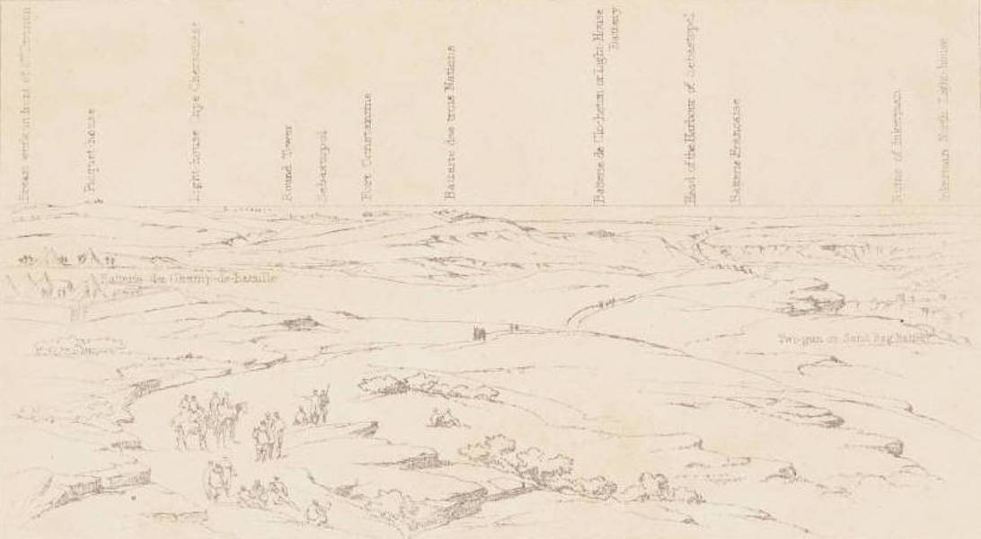 """The Seat of War in the East Vol. 1 - Key to """"The Field of Inkerman."""" (1855)"""