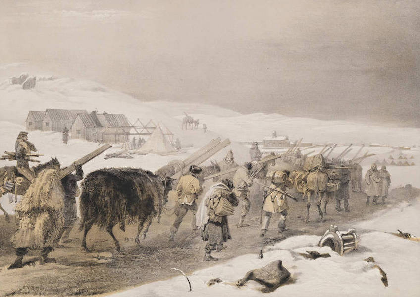 Huts and Warm Clothing for the Army.