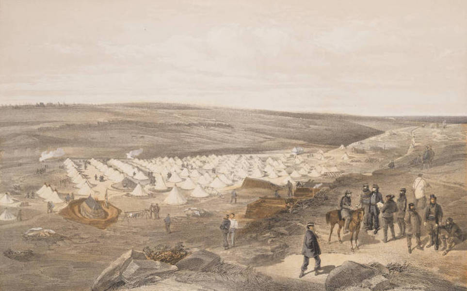 The Seat of War in the East Vol. 1 - Camp of the Naval Brigade, Before Sebastopol. (1855)