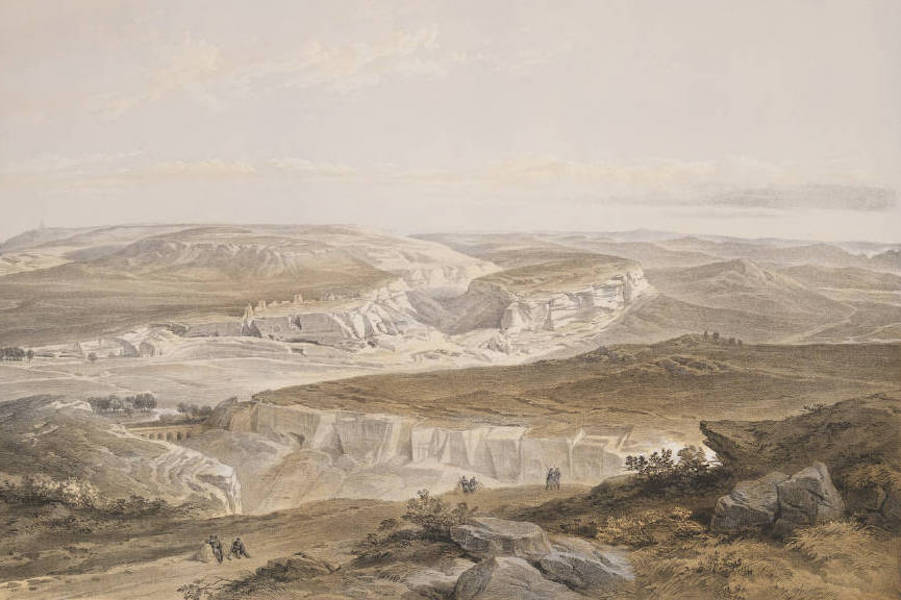 The Seat of War in the East Vol. 1 - The Ruins of Inkermann and City of Caverns. (1855)