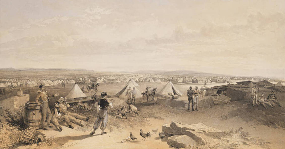The Seat of War in the East Vol. 2 - Camp of the 4th Division. July 15th 1855. (1856)