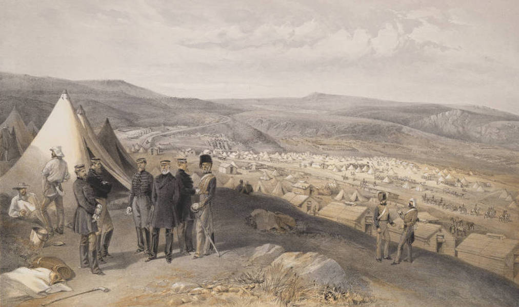 The Seat of War in the East Vol. 2 - Cavalry Camp, 9th July 1855. (1856)
