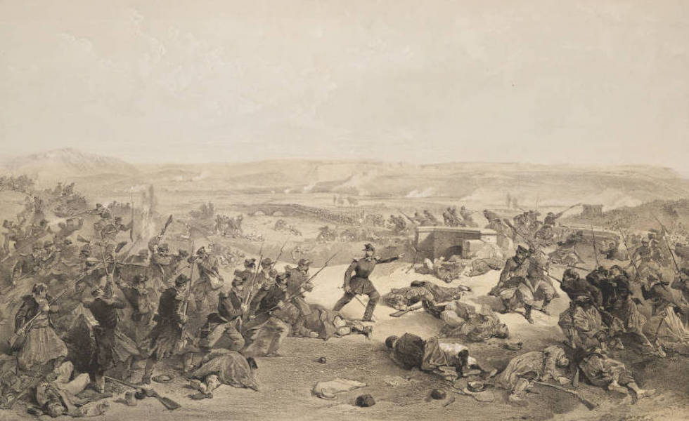 The Seat of War in the East Vol. 2 - Battle of the Tchernaya, 16th August, 1855. (1856)