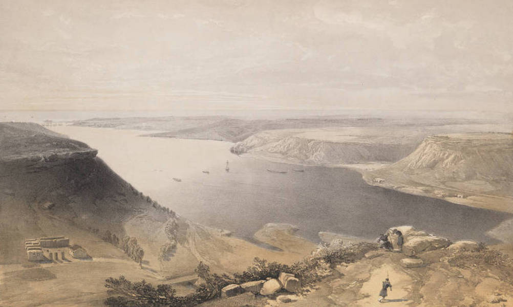 The Seat of War in the East Vol. 2 - The North Side of the Harbour of Sebastopol. From the Top of the Harbour, 22nd June 1855. (1856)