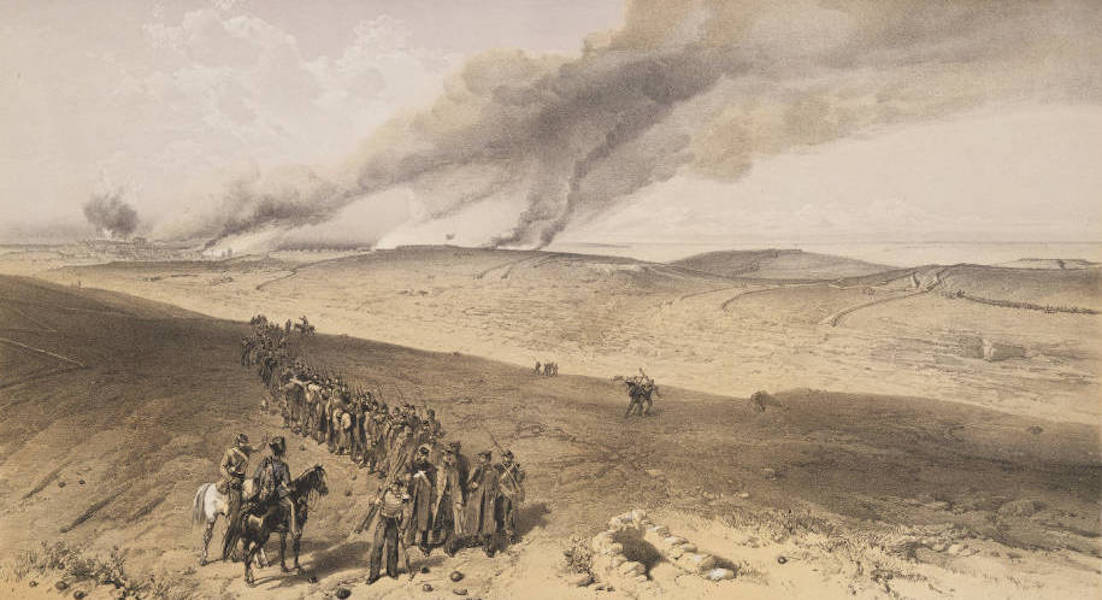 The Seat of War in the East Vol. 2 - Redan and Advanced Trenches of British Right Attack. (1856)