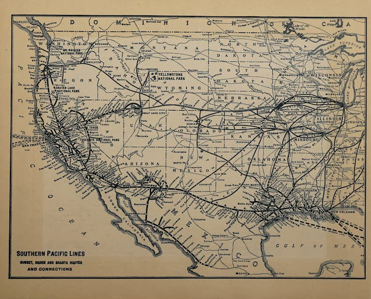 The Shasta Route in All of Its Grandeur - Southern-Pacific Lines (1923)
