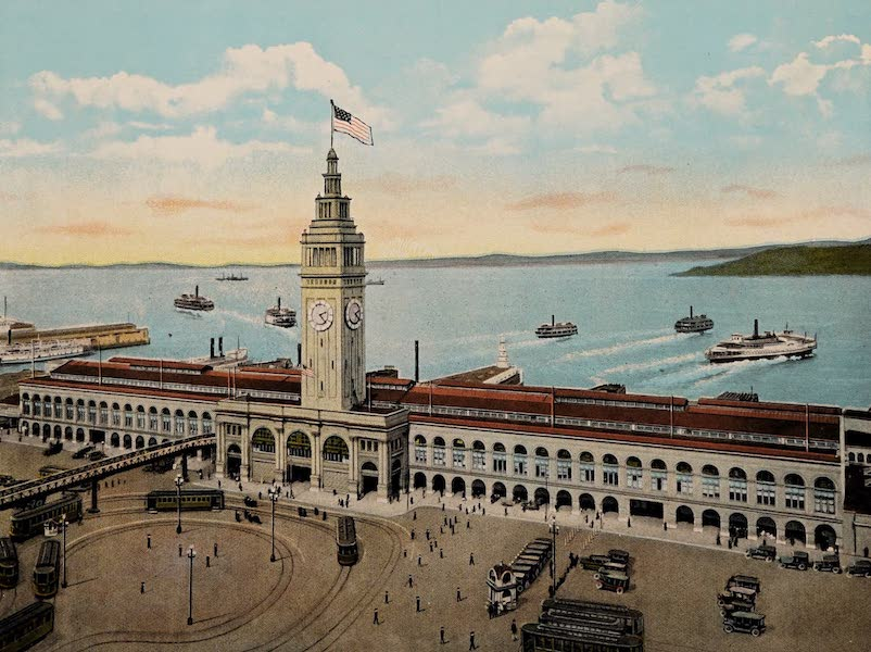 Front View of Ferry Building, San Francisco