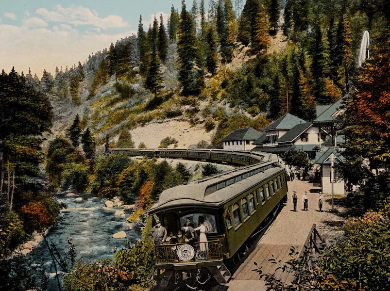 The Shasta Route in All of Its Grandeur - Shasta Springs (1923)