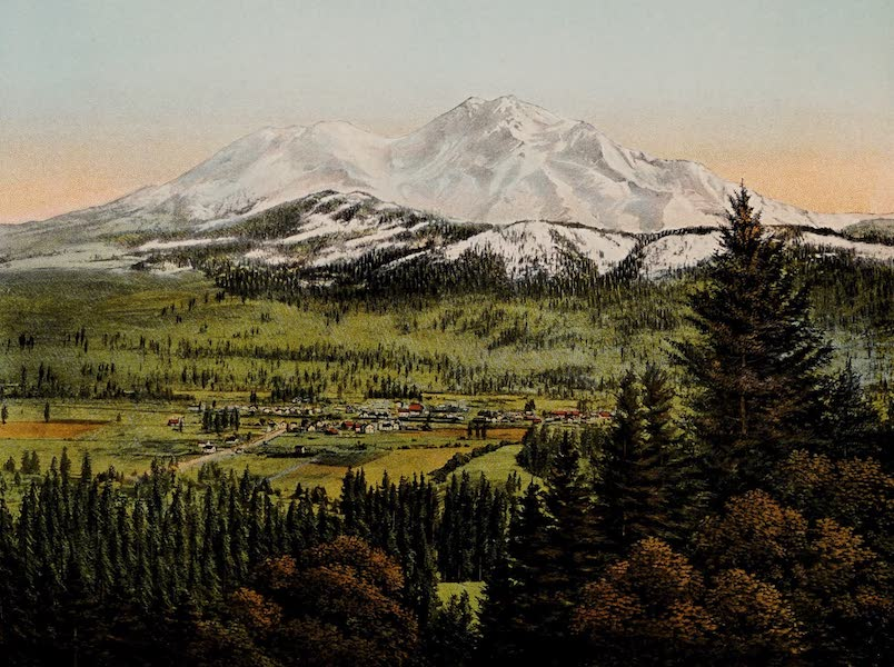 The Shasta Route in All of Its Grandeur - Sisson at the Base of Mount Shasta (1923)