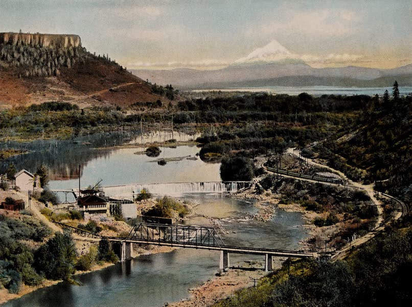 Gold Ray Dam, Showing Table Mountain and Rogue River