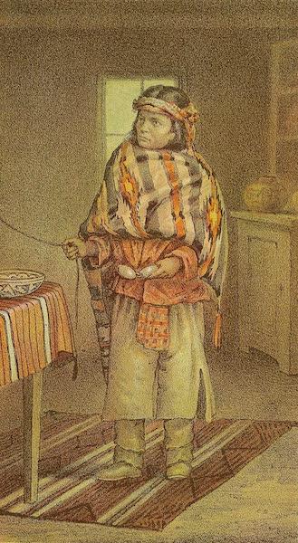 The Snake-Dance of the Moquis of Arizona - Navajo boy,