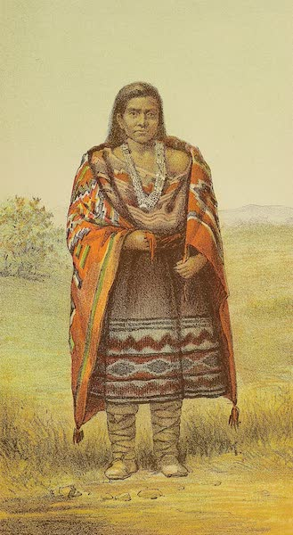 The Snake-Dance of the Moquis of Arizona - Navajo woman. Snake Dance of Moquis of Arizona. (1884)