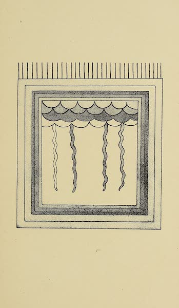 The Snake-Dance of the Moquis of Arizona - Altar representing rain-clouds and lightning (1884)