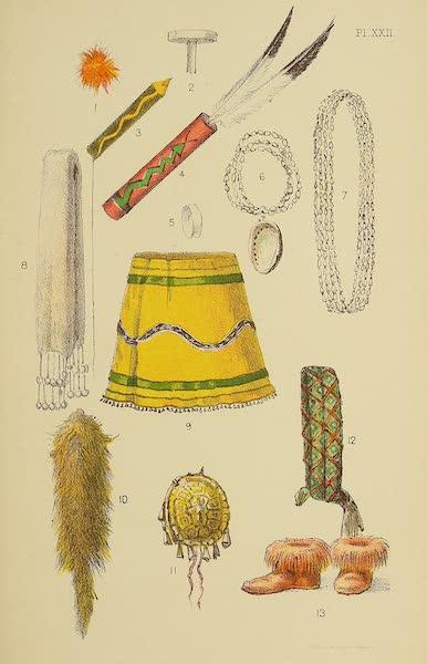 The Snake-Dance of the Moquis of Arizona - Paraphernalia of Snake Dancers (1884)