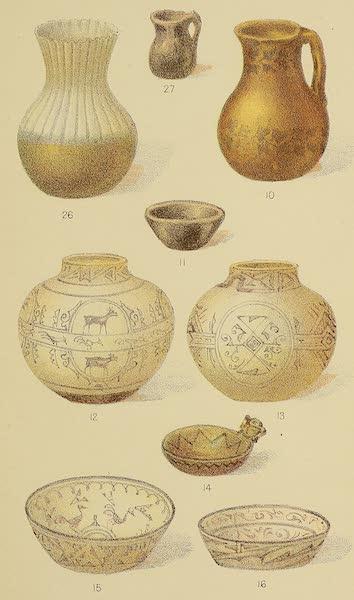 The Snake-Dance of the Moquis of Arizona - Pueblo pottery [II] (1884)