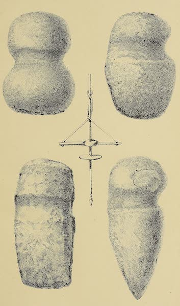 The Snake-Dance of the Moquis of Arizona - Stone implements (1884)