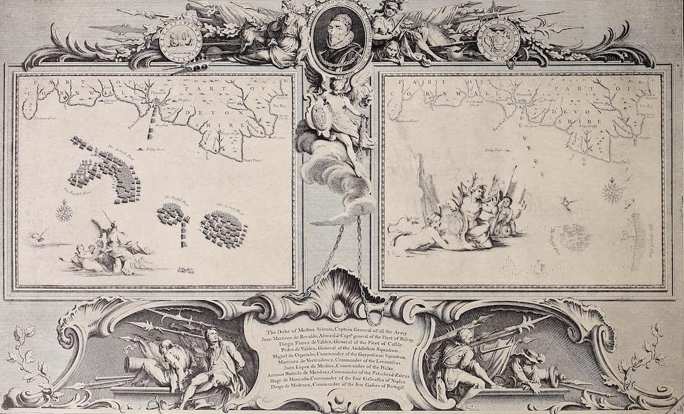 The Spanish Armada - Charts III and IV (1878)